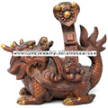 Dragon Turtle, Fengshui dragon turtle , Dragon Turtle hold the Ru Yi Scepters