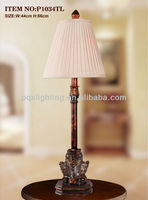 Traditional Palace Decorative Tall Table Lamp