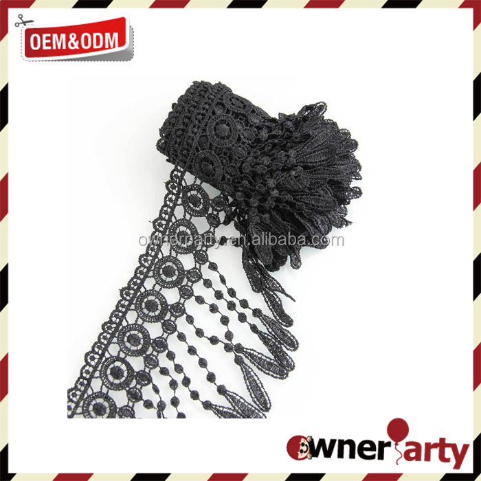 Mysterious Beautiful Black Lace Ribbon