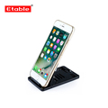 Plastic adjustable tablet stand for cookbook