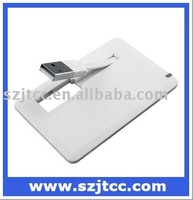 The New Style Card USB Flash Drive 4GB, Business Card Pen Drive, USB Flash Drive Card Shape