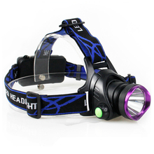 10w 3.7v waterproof high power portable rechargeable led head lamp