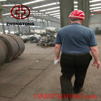 famous zhongtong thin wall galvanized steel pipe/Steel Structure