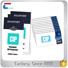 3 x Passport 10 x RFID Blocking ID Credit Card Protector Sleeve holder