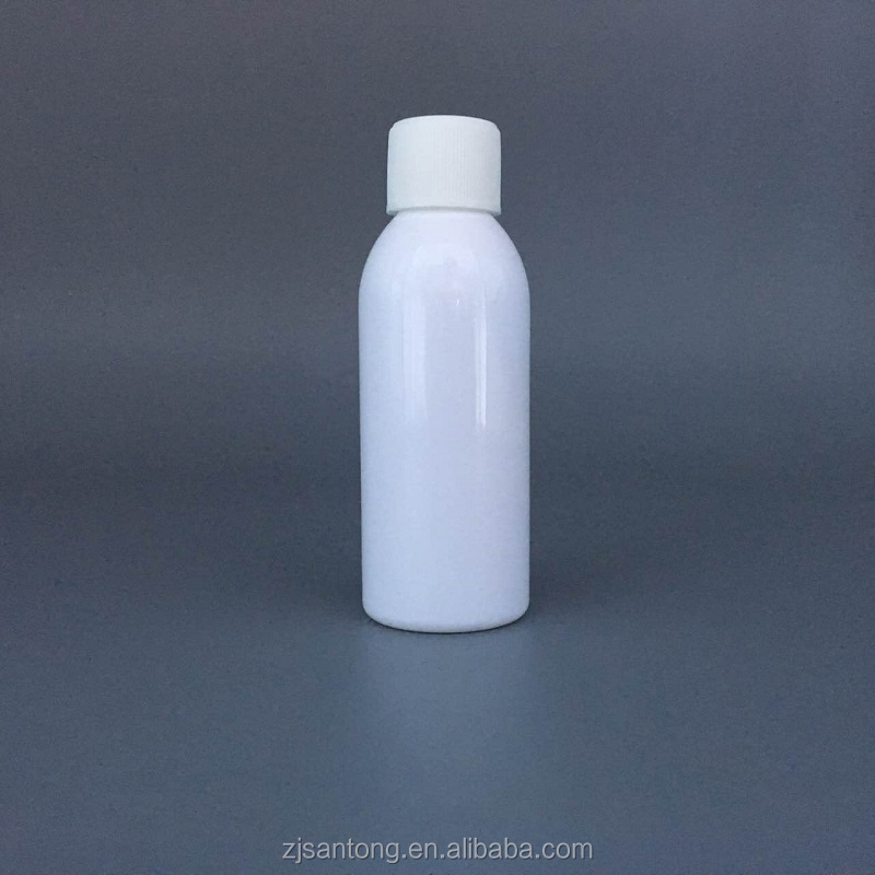 60ml PET plastic healthcare bottle with screw cap for capsule