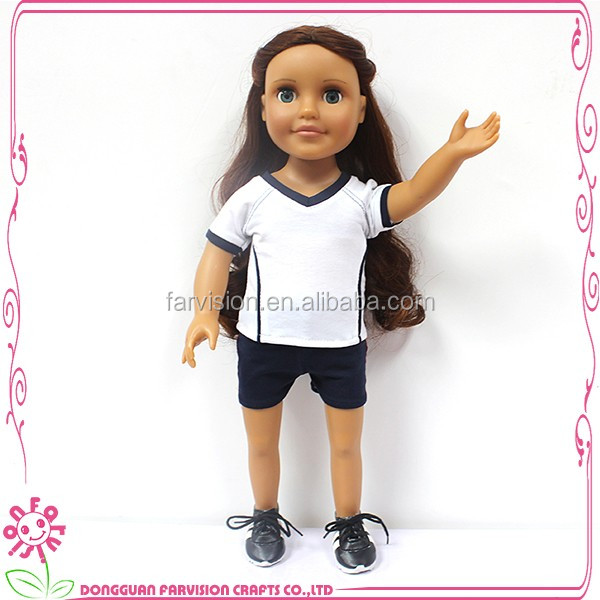 DIY toy girl love 18'' dolls for children mini real cute dolls