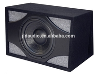 NEW DESIGN 12 inch Car subwoofer box with plastic board in front(ND12B)