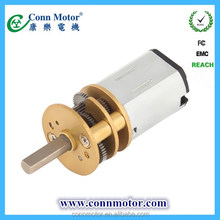China factory price First Choice 3v 6v 9v dc gear motor