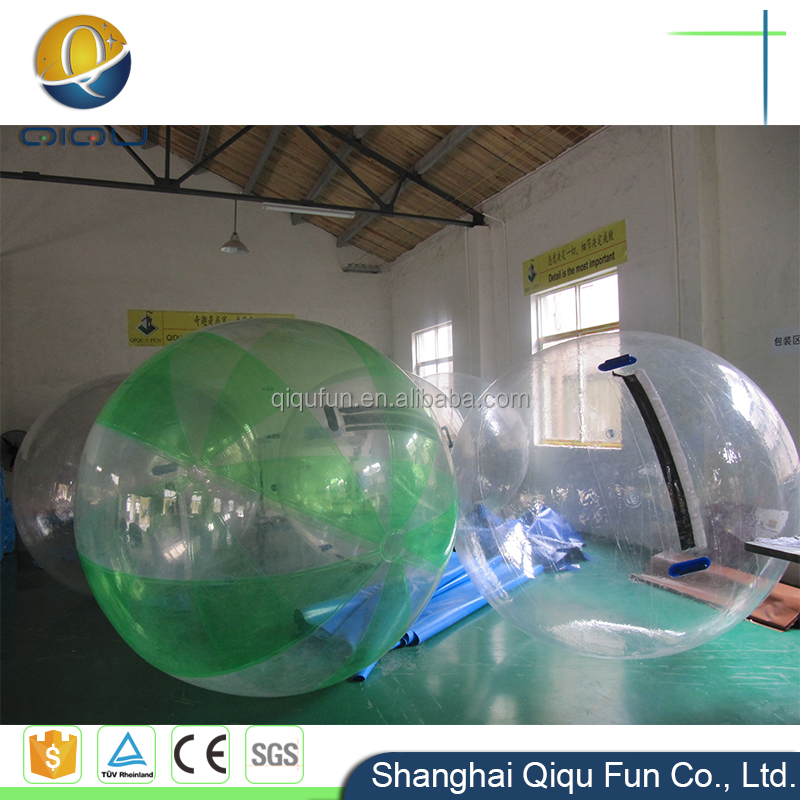 PVC or TPU inflatable water play equipment human size floating inflatable water walking human bubble ball for sale