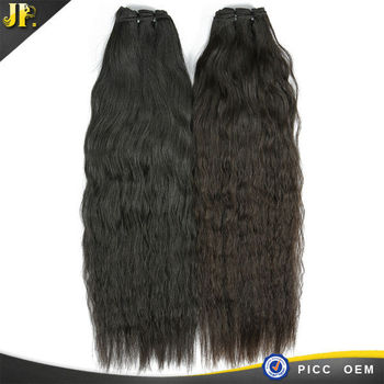 2015 JP hair kinky straight 100 brazilian human hair extension