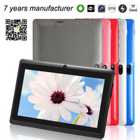 tablet pc specifications alibaba express Q88 Allwinner A23 dual core 7 inch android 4.2 mid wifi tablette