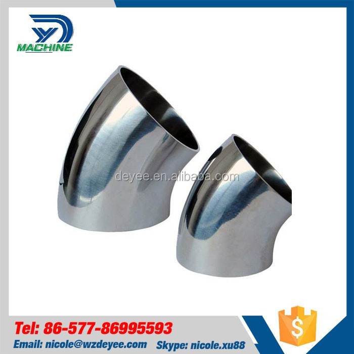 Wholesale Sanitary Pipe Fitting Stainless Steel Hot-Press Elbow