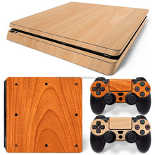 Newest removable decal novelty console skin sticker for PS4 slim controller sticker wholesale