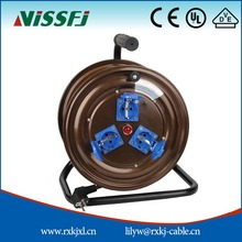 Chinese supplier T301EK retractable wire reel power extension cord cable reel