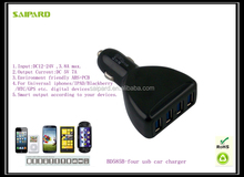wholesale usb car charger adapter 4 usb care charger usb hub