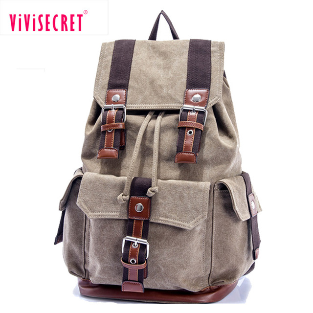 2017 new product high grade school bag mochilas escolares masculinas cheap stylish canvas backpack high school knapsack