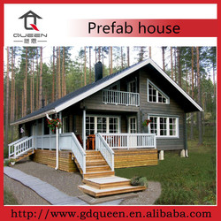 Good price wooden prefab house in China