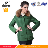 High Quality fur coat women Winter Feather Down Short Coats cheap spring jackets