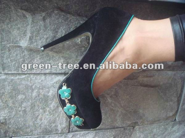 Jewelry fashion style high heel shoes