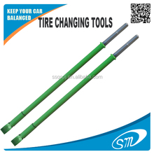 Truck tire changing tools