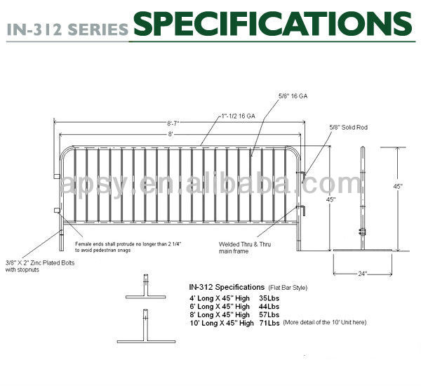 AU/Asia Hot Sale!! Temporary fence| barrier pool fence