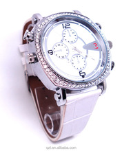 Cheapest H.264 Compressing and Decoding 720P HD waterproof lady wrist watch camera