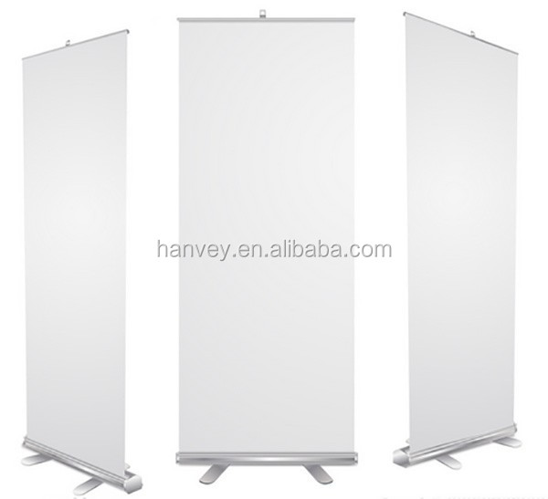 Advertising digital hanging electric mini roll up banner/roll up stand, roll up horizontal banner stand/roll up price