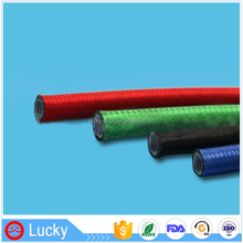 Flexible Heat Endurance Fiber with Different Colors and SS Double Braid Teflon Pipe PTFE Tubes for Spacecraft Tubing