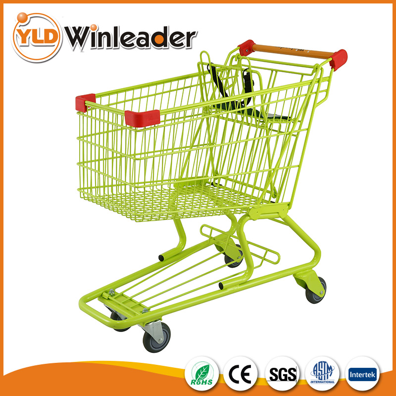 Specifically designed good service personalized cheap folding shopping cart