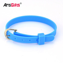 Custom Silicon Rubber Wrist Bands Adjustable Personalized Thin Bracelets Silicone