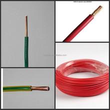 600V Copper/PVC 8AWG 10AWG 12AWG THW Cable for Building