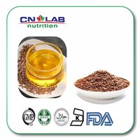 Natural refined food grade linseed oil in Health and Medical