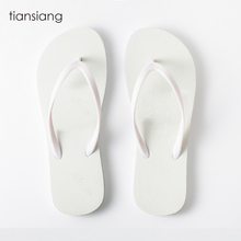 Customized Plain Rubber wedding favors gifts all white flip flops