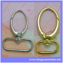 Metal purse buckles Swivel bolt snap hooks bag clasps