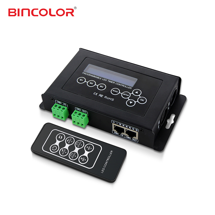 BC-100 DMX512 DIY multi changing patterns decorative light/ LED controller with LCD <strong>screen</strong>