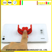 Factory Price silicone silicon smart stand for mobile phone