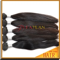 Unprocessed virgin Indian hair silky straight hot selling cabelo da India temple hair
