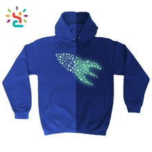 Glow In The Dark Rocket Ship Machines Aliens Planets Sci-Fi HOODIE Birthday Sweatshirt custom made hoodies designer hoody