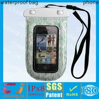 fashion pvc smart phone waterproof floating cases