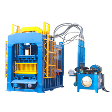 Hydraulic concrete solid block moulding forming machine products Ghana