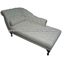 new classical chaise leather lounge sofa bad