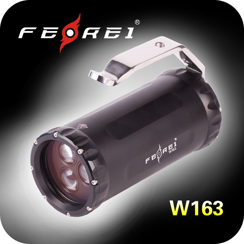 High quality diving flashlight torch, wide angle beam, military aluminum body