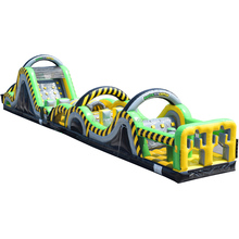 QIQU fun trending products inflatable water obstacle course for sale / the beast inflatable obstacle / obstacle course equipment