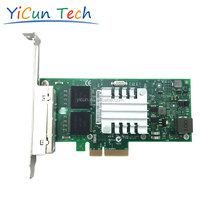 I350-T4 4 Port RJ45 10/100/1000Mbps PCI-Express Gigabit Network Adapter