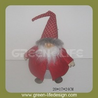 Hotsale felt cloth santa claus for christmas gifts