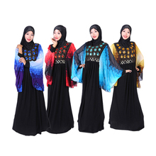 abaya dubai faracha muslim long sleeve maxi dress kaftans wholesale india