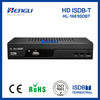 New product set top box ISDBT receiver TV digital isdb-t modulator
