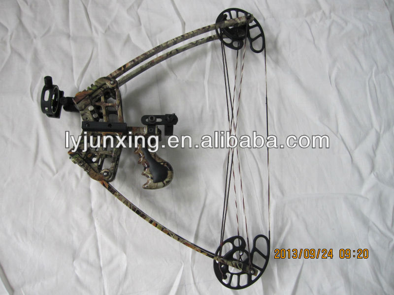 MX pistol grip compound bow, triangle bow