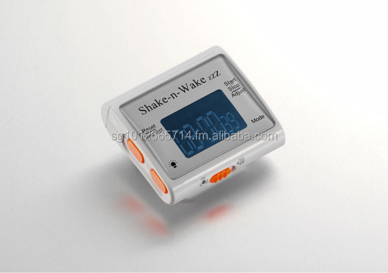 Shake-n-Wake Silent Vibrating Alarm Wrist Watch