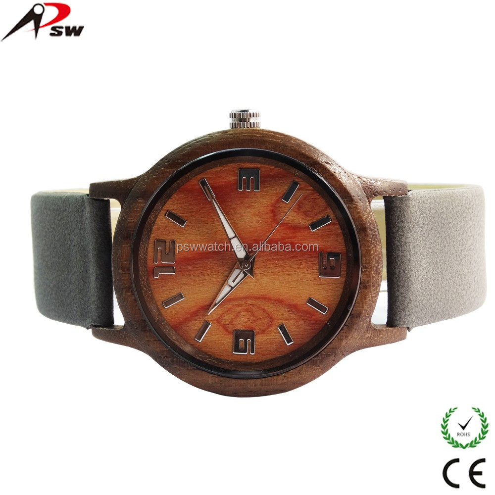 2019 Latest handmade wood grain wooden watches
